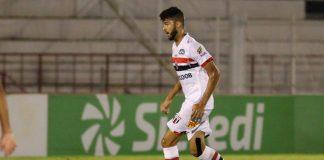 Jogador da base do Botafogo-SP (Foto: Rogério Moroti/Agência Botafogo)