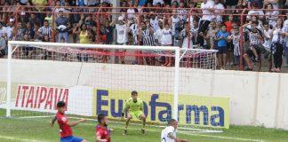 Comercial 2x2 Paraná Clube (Foto: Rafinha Alves/Comercial FC)