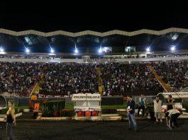 Estádio Santa Cruz recebeu grandes públicos durante a Copa São Paulo de 2018 (Foto: Rogério Moroti/Agência Botafogo)