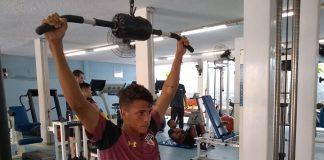 Jogadores da base do São Paulo em preparação física na Physio Athletic (Foto: Divulgação)