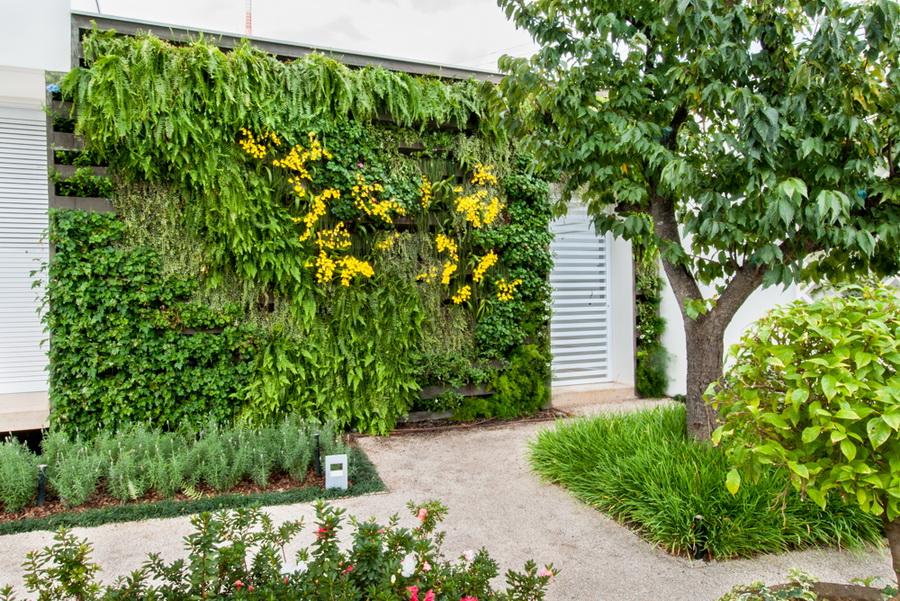 cinco benef cios dos jardins verticais na poca mais. Black Bedroom Furniture Sets. Home Design Ideas