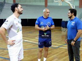 Comissão técnica do Vôlei Ribeirão quer manter a liderança da Superliga B (Foto: Rafael Gonçalves/FollowX Comunicação)
