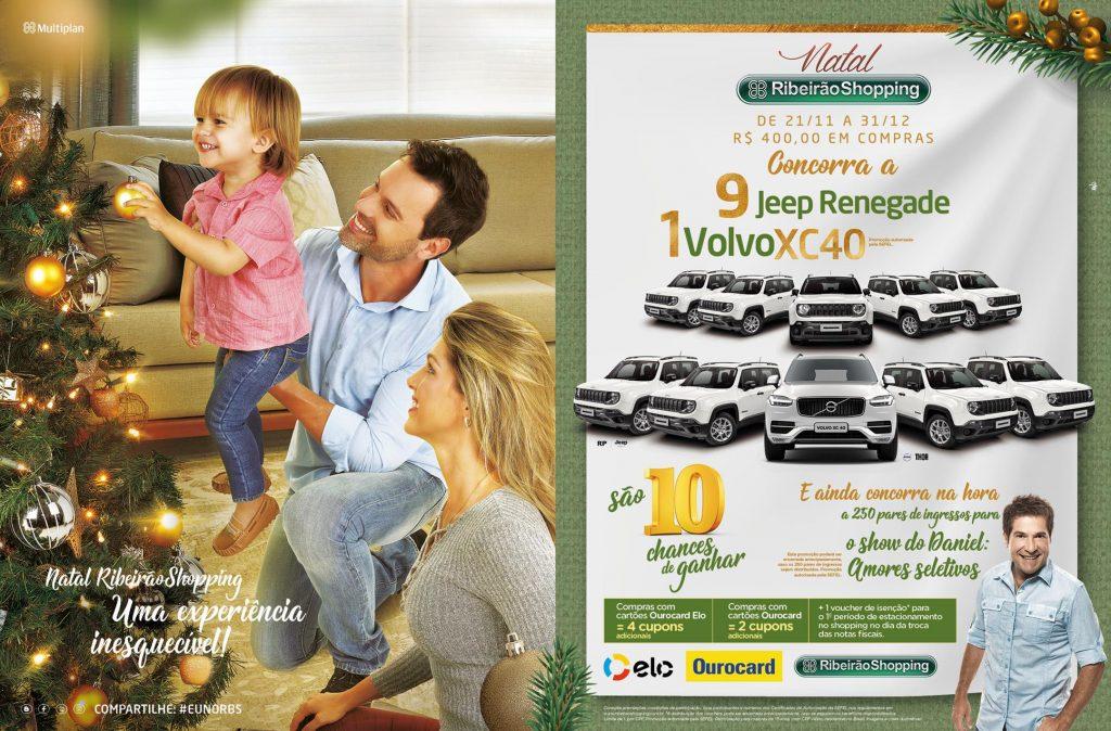 RibeiraoShopping realiza super campanha com sorteios de 10 automóveis zero  quilômetro. A cada R  400,00 em compras efetuadas entre 21 de novembro e 31  de ... 09efc172ef